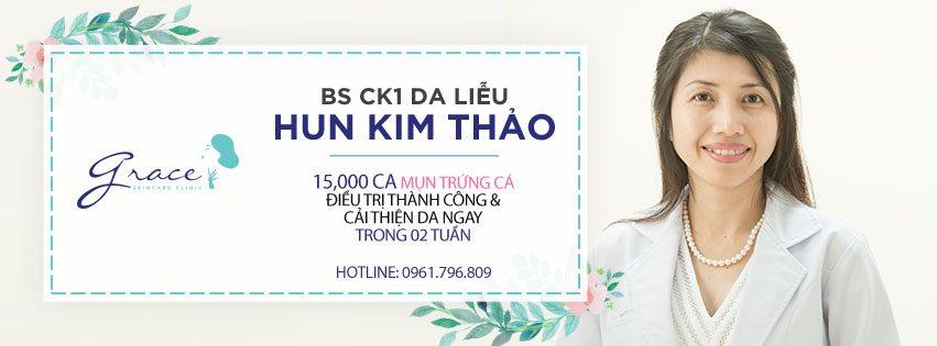 Điều trị mụn dứt điếm - BS Hun Kim Thảo