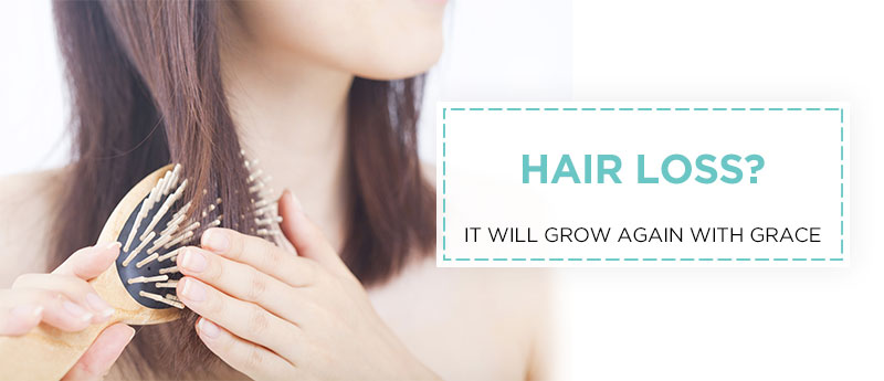 Hair loss treatment - Grace Skincare Clinic