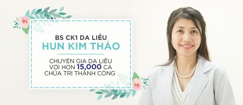 Bác sĩ da liễu CK1 Hun Kim Thảo- một bác sĩ da liễu đầy y đức của phòng khám da liễu Grace Skincare Clinic
