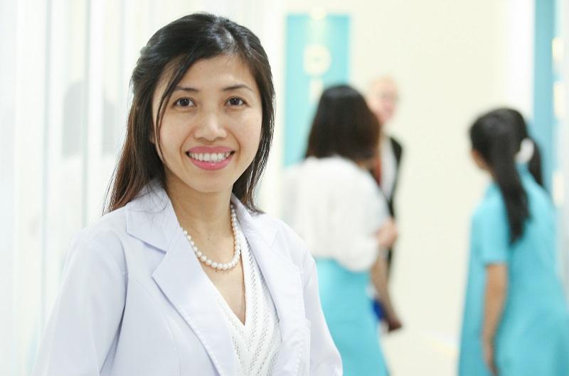 Điều trị mụn trứng cá dứt điểm cùng bác sĩ ck1 da liễu Hun KIm Thảo 1