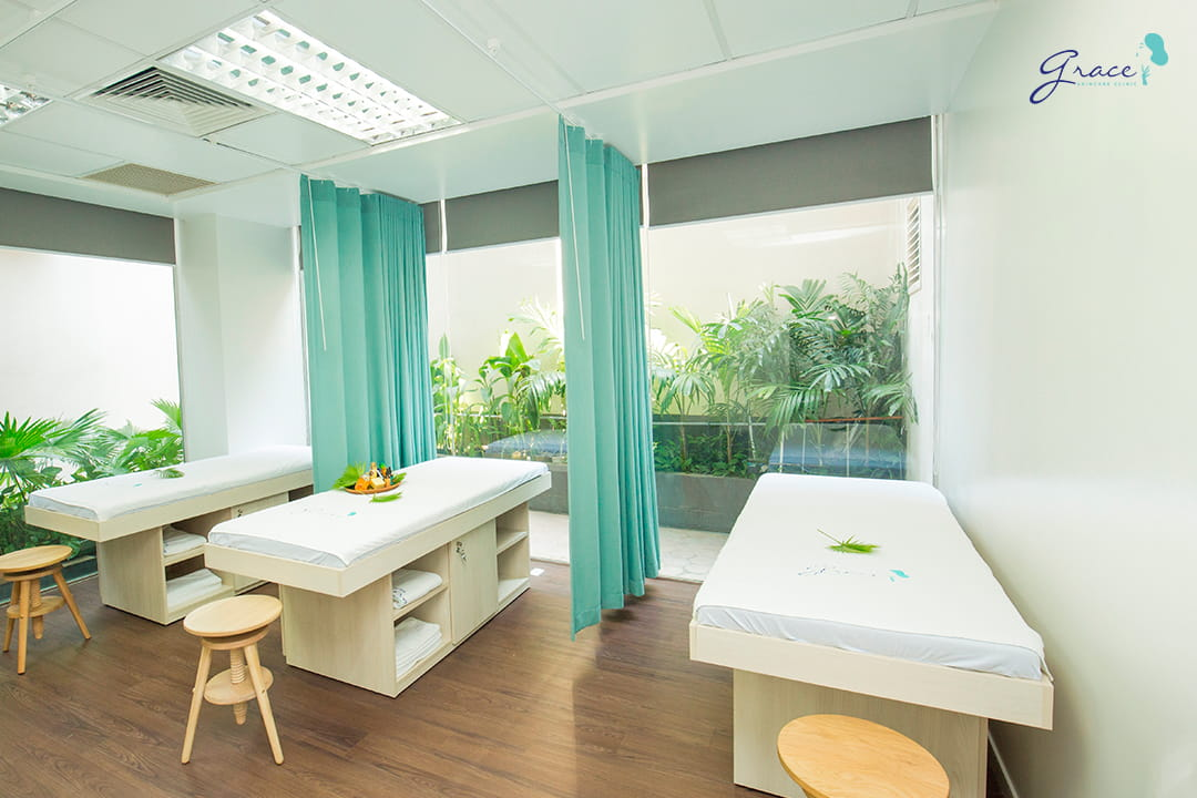 điện di collagen tại grace skincare clinic