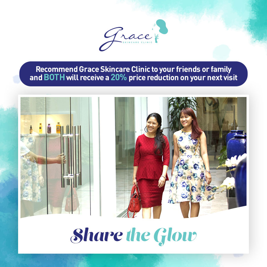 Share the Glow - Grace Skincare Clinic